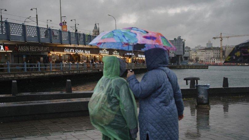 YAĞMUR VAR! Meteoroloji'den son dakika uyarısı! Her yerde yağmur var