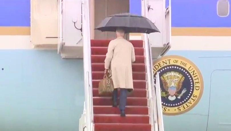 SON DAKİKA: ABD Başkanı Joe Biden, neredeyse düşüyordu! - Haberler