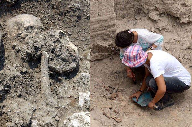 Avcılar'da 800 bin yıl öncesinin yaşam izleri bulundu