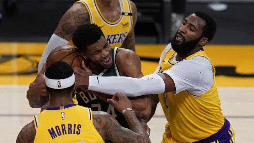 NBA'de Antetokounmpo kardeşlerin karşılaşmasında kazanan Bucks oldu