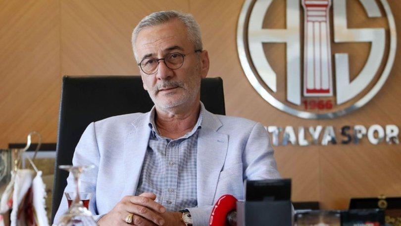Antalyaspor Başkanı Yılmaz