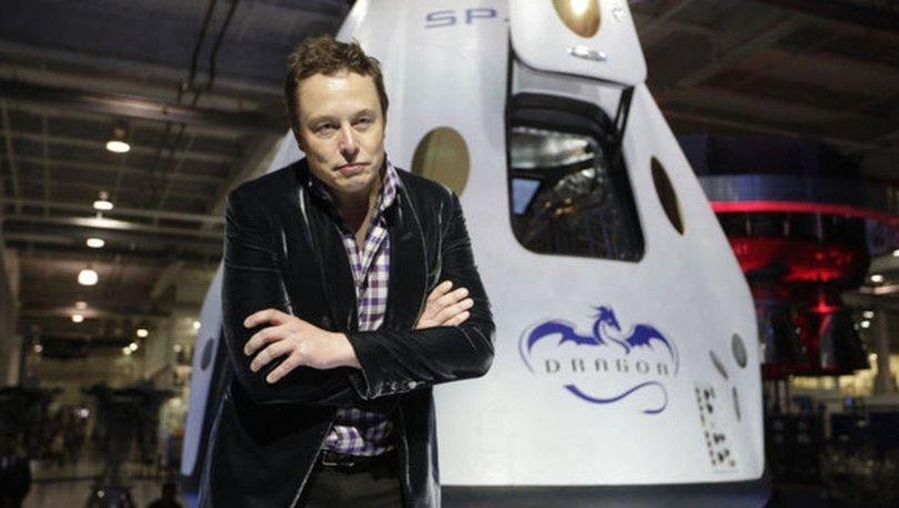 YILMIYOR! Elon Musk, SpaceX'in yeni kapsülü Dragon'u tanıttı