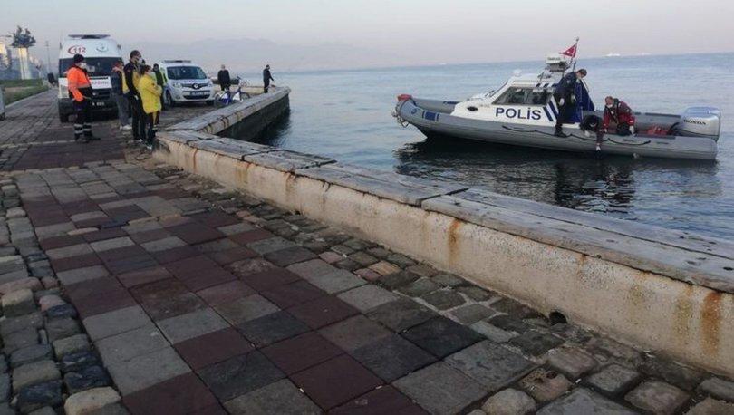 İzmir Kordonboyu'nda denizde cansız beden bulundu