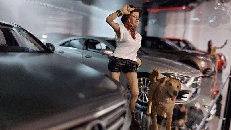 SON DAKİKA: 100 bin liralık maket otomobil koleksiyonu oluşturdu...