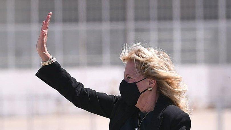 ABD First Lady'si Jill Biden'dan uçaktaki gazetecilere 1 Nisan şakası - Haberler