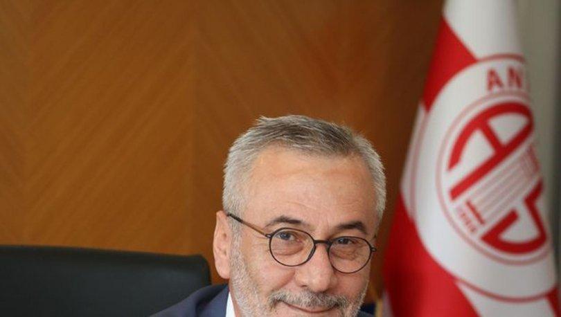 Kulüp başkanı Mustafa Yılmaz: -