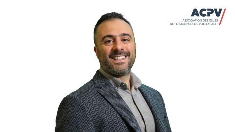 Eczacıbaşı Spor Kulübü Müdürü Cemal Erksun, ACPV başkanlığına seçildi