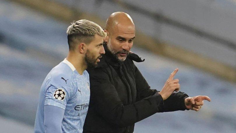 Manchester City'de, takımdan ayrılacak Sergio Agüero'nun yerine forvet düşünülmüyor