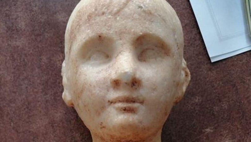 Alçıdan yaptıkları heykeli, 'Zeus'un oğlu' diyerek 1 milyon liraya satmaya çalıştılar