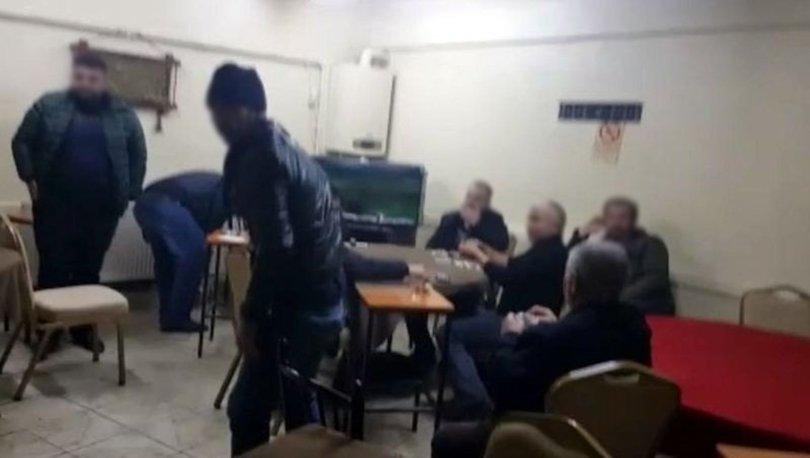 Kısıtlamayı ihlal eden kıraathaneye baskın: 9 kişiye 56 bin lira ceza