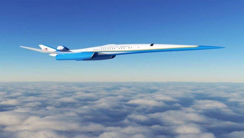MUHTEŞEM UÇAK! Son dakika: ABD Başkanı için süpersonik uçak! -Haberler