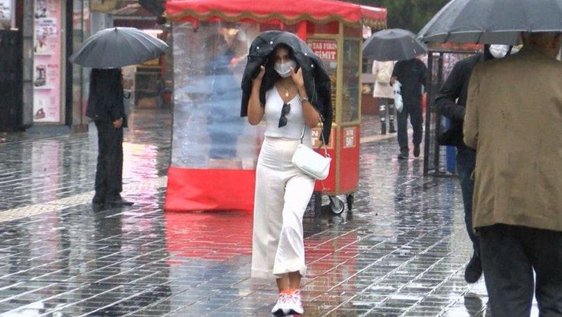 HAVA DURUMU SON DAKİKA: İstanbul'a sağanak yağış geliyor - 3 Nisan Hava Durumu