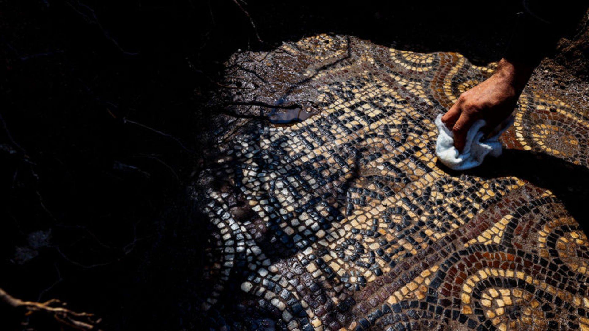 Kaçak kazı operasyonunda Manastır ve mozaikler bulundu