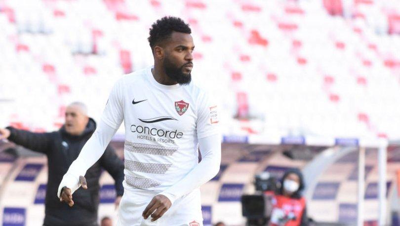 Hataysporlu futbolcu Boupendza'nın Kovid-19 testi negatif çıktı