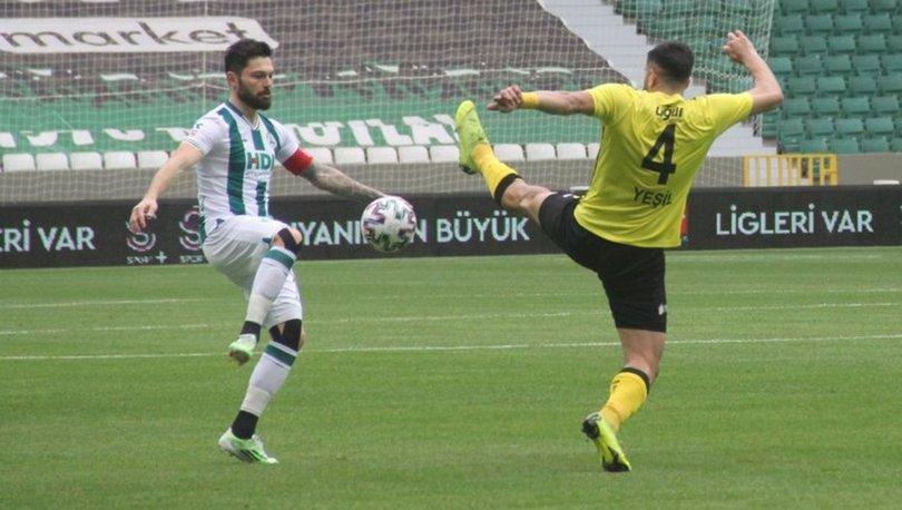 GZT Giresunspor: 0 - İstanbulspor: 0 MAÇ SONUCU