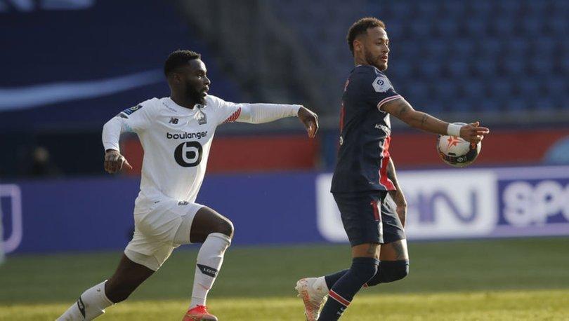 PSG: 0 - Lille: 1 MAÇ SONUCU