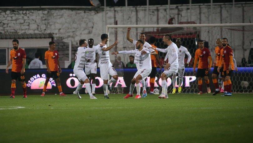 Hatayspor: 3 - Galatasaray: 0 | MAÇ SONUCU
