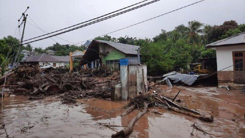 SON DAKİKA: Endonezya'yı sel vurdu: 23 ölü, 9 yaralı - Haberler