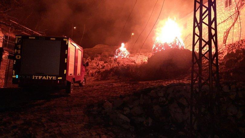 Son dakika: Kundaklama sonucu 3 evde yangın çıktı! - Haberler