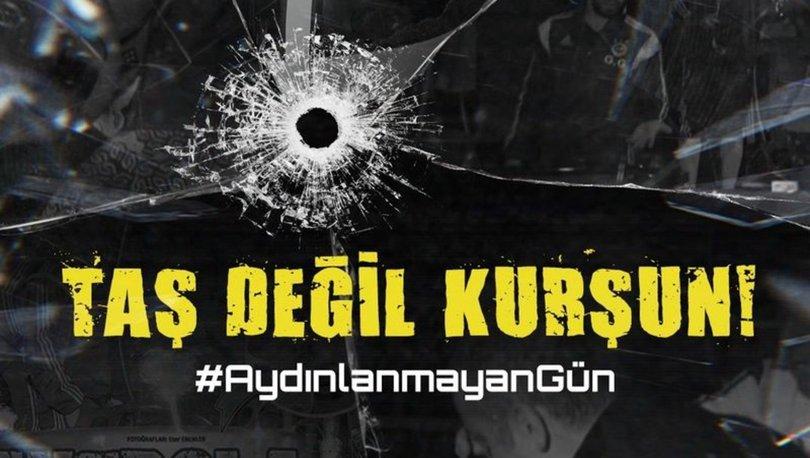 Fenerbahçe'den paylaşım: Taş değil kurşun!