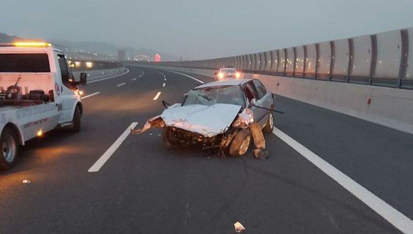 İzmir'de korkunç kaza! 1 ölü, 1 yaralı - HABERLER