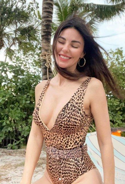 YORUM YAĞDI! Defne Samyeli'den Miami pozları - Son dakika Magazin haberleri