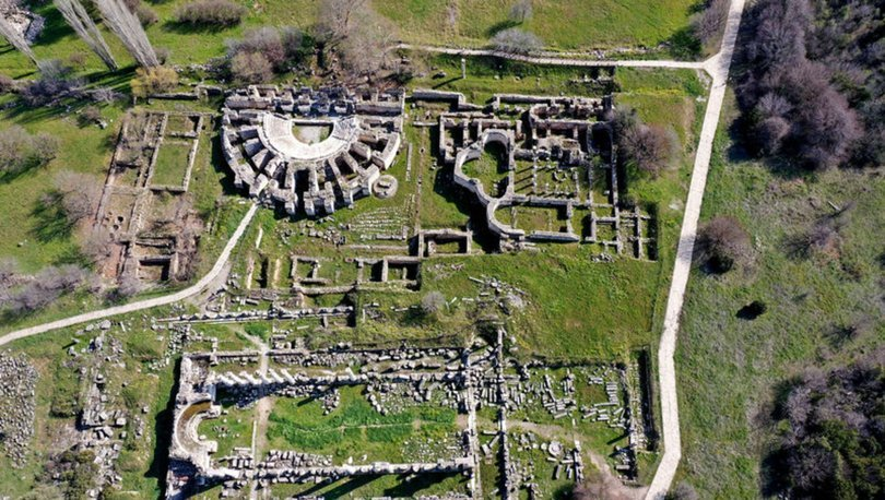 Afrodit'in kenti Afrodisyas salgında da ilgi görüyor