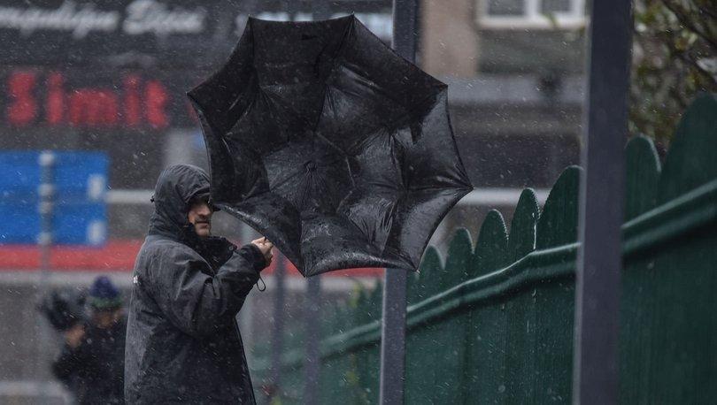 YAĞMUR VE LODOS! Son dakika HAVA DURUMU 5 Nisan uyarısı - Meteoroloji