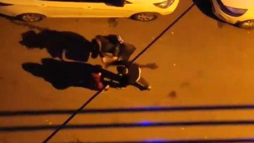 YETER! Son dakika: Küçükçekmece'de sokak ortasında kadına şiddet | VİDEO HABER