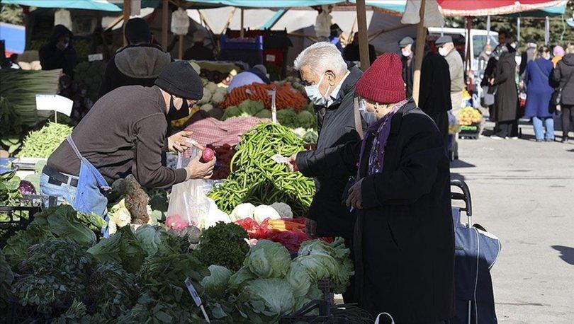 Martta fiyatı en fazla artan- azalan ürünler açıklandı