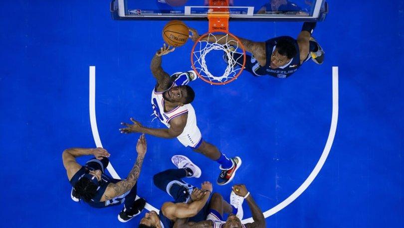 Doğu Konferansı lideri Philadelphia 76ers, Memphis Grizzlies'a mağlup oldu