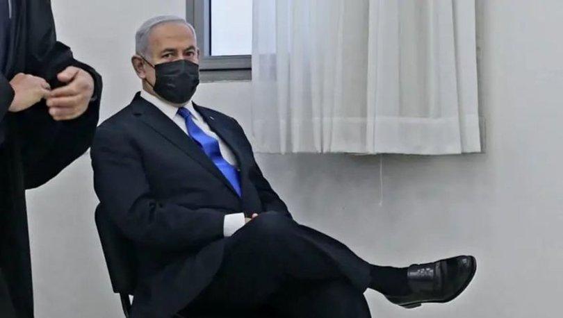 SON DAKİKA: Üçüncü kez hakim karşısına çıkan İsrail Başbakanı Netanyahu'nun pozuna tepki yağdı! - Haberler