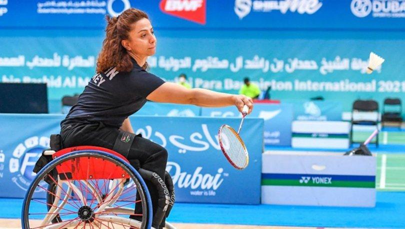 Emine Seçkin, Dubai'de 2 madalya kazandı