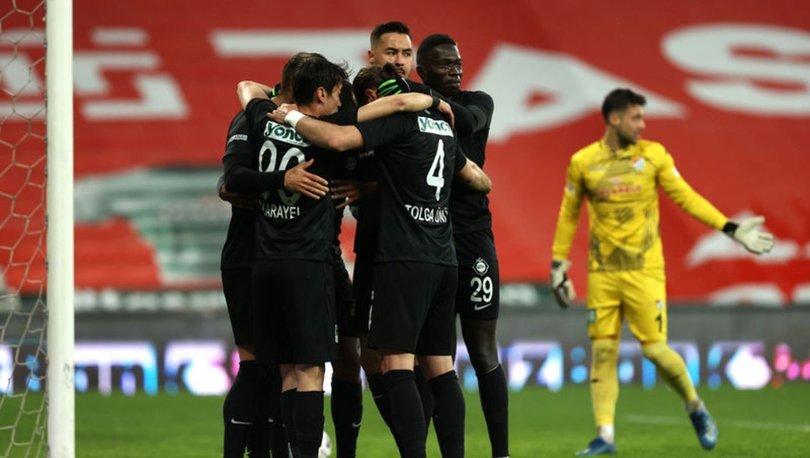 Bursaspor: 1 - Altay: 3 MAÇ SONUCU