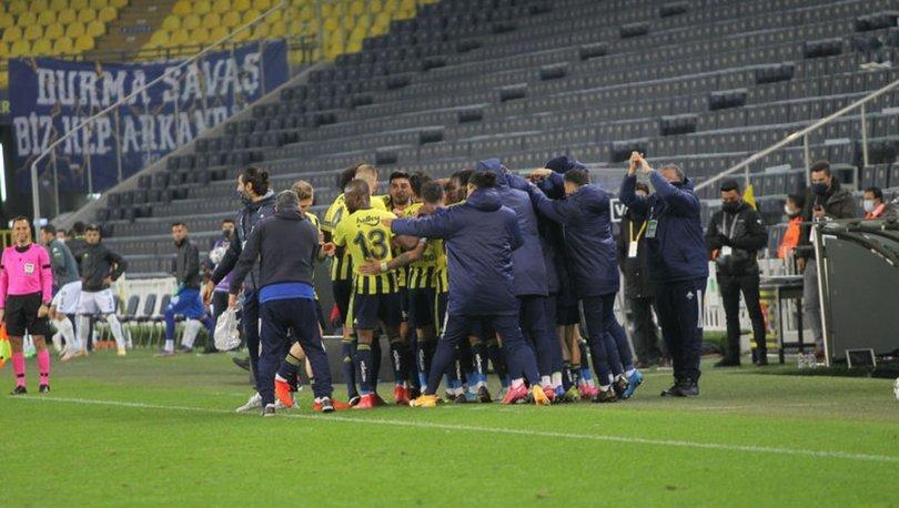 Fenerbahçe'den iç sahada 65 gün sonra galibiyet