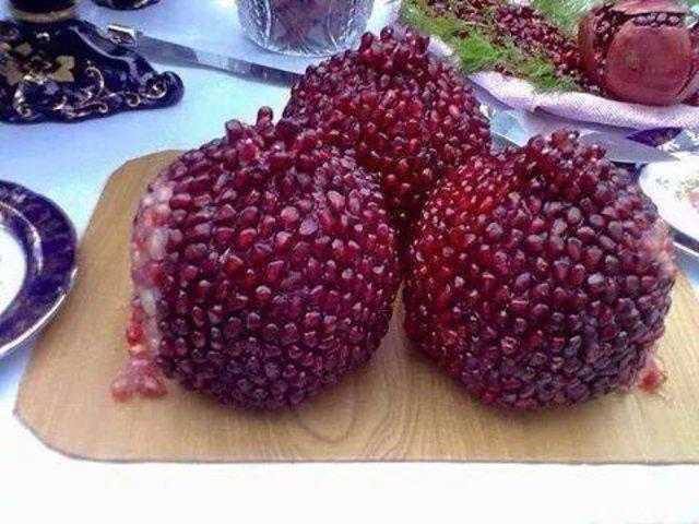 Kabuklarından sıyrılan sebzeler ve meyveler nasıl gözükür?