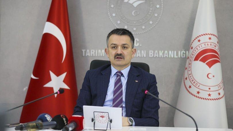 Bakan Pakdemirli: Bitkisel üretimde Cumhuriyet tarihi rekoru kırıldı