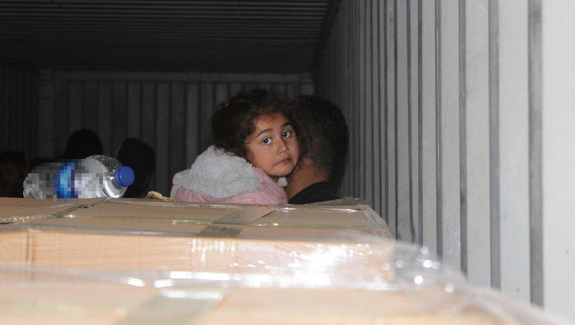 ACI GÖRÜNTÜ! Son dakika: İzmir'de 3 konteynerden kaçak göçmenler çıktı - Haberler