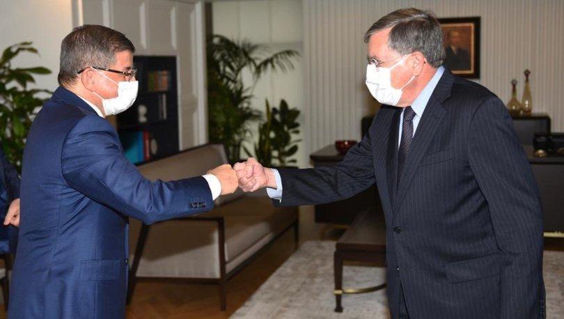 ABD Ankara Büyükelçisi'nden Davutoğlu'na ziyaret