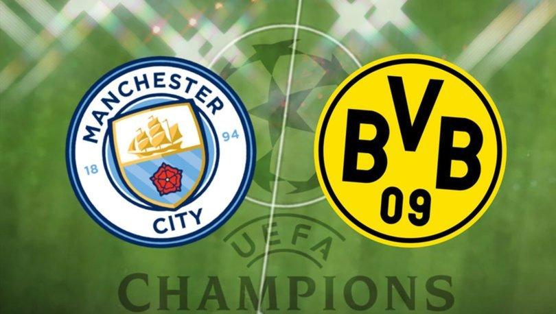 Manchester City Borussia Dortmund maçı hangi kanalda CANLI yayınlanacak? City Dortmund maçı ne zaman, saat kaç