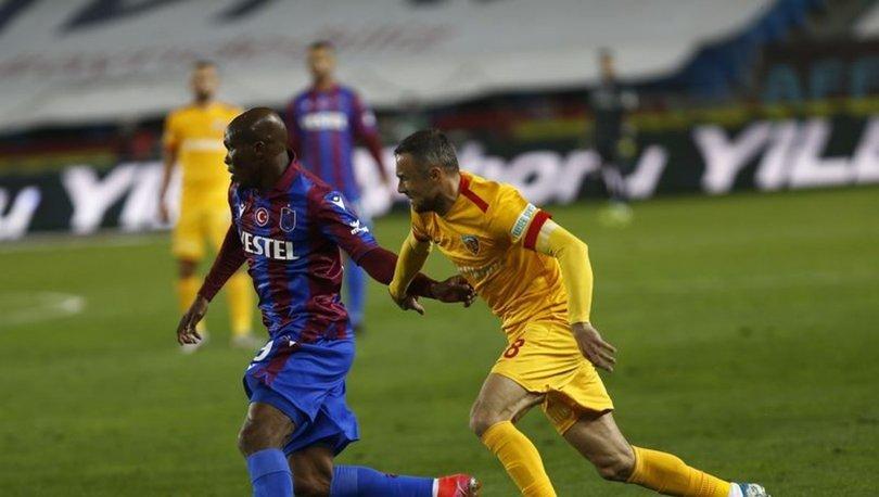 Trabzonspor: 1 - Kayserispor: 1 | MAÇ SONUCU