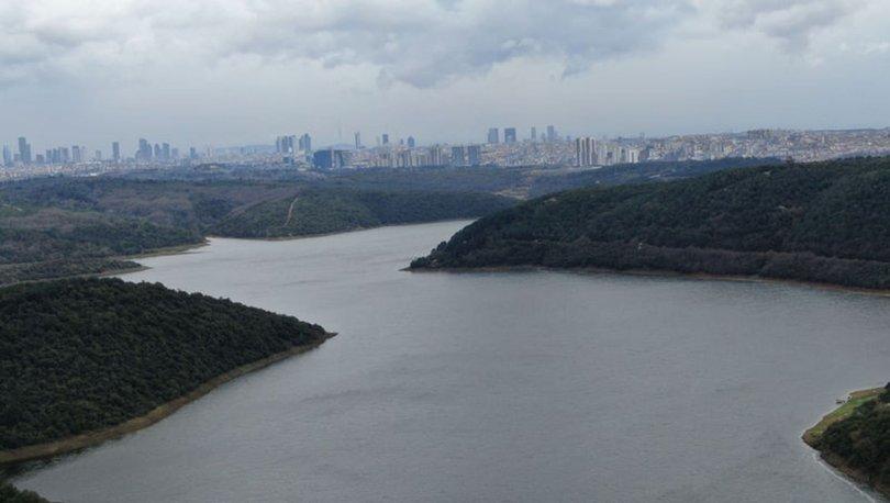 BARAJLARDA SON DURUM   Son dakika: İstanbul baraj doluluk oranları - İSKİ (6 Nisan)