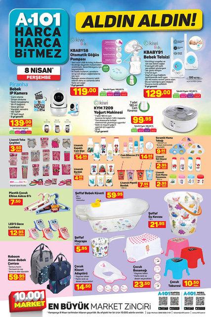 A101 BİM aktüel ürünler kataloğu! A101 BİM 8-9 Nisan aktüel ürünleri! Liste burada