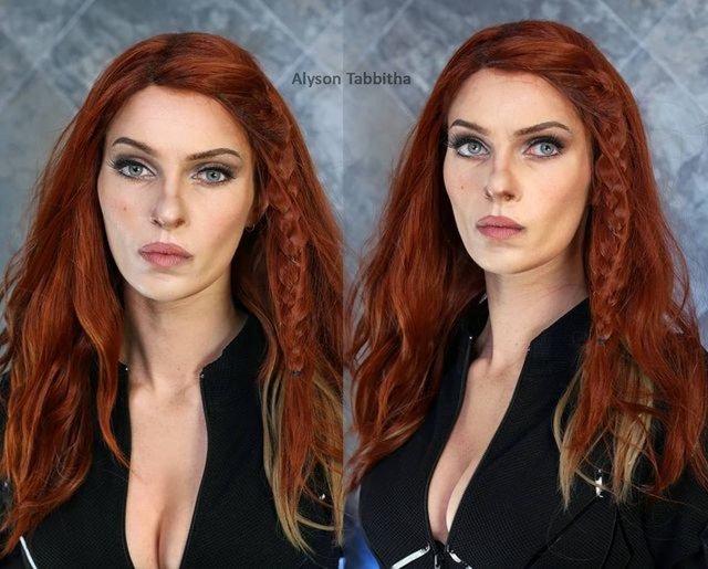 İstediği herkese benzeyebilen cosplay tutkunu: Alyson Tabbitha - Haberler