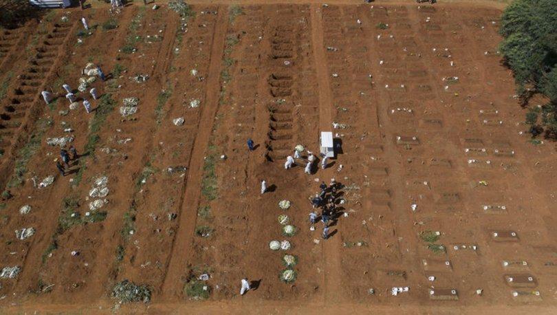 Brezilya'da Kovid-19'dan bir günde ilk kez 4 binden fazla kişi öldü
