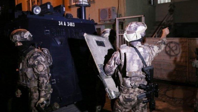 İstanbul'da terör örgütleri El Kaide ve DEAŞ'a yönelik operasyon