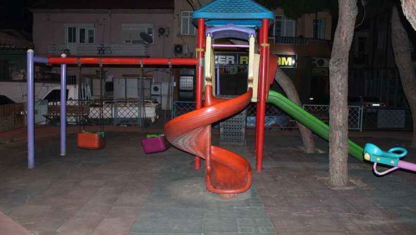 Manisa'da, parkta oynayan çocuğun başına yorgun mermi isabet etti