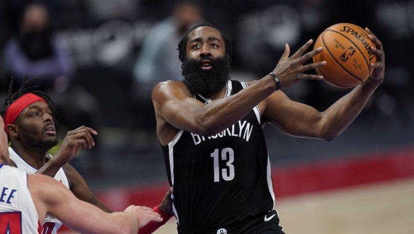 NBA'de Nets forması giyen Harden, sahalardan 10 gün uzak kalacak