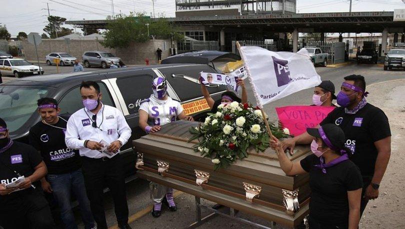 SON DAKİKA: Meksikalı vekil adayından tabutlu seçim kampanyası! - Haberler