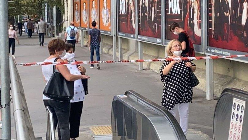 Mecidiyeköy-Mahmutbey Metro Hattında çalışma nedeniyle Mecidiyeköy istasyonu geçici olarak kapatıldı